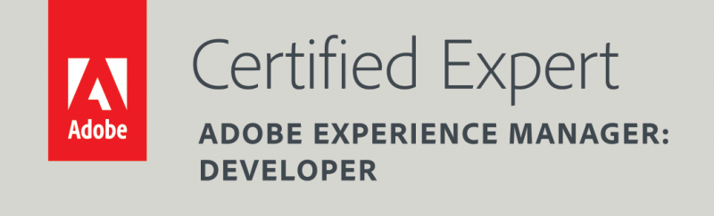 ACE: Adobe Experience Manager Certified Expert Developer
